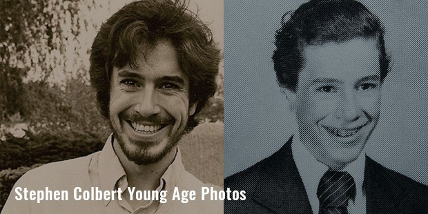 stephen colbert young age photos