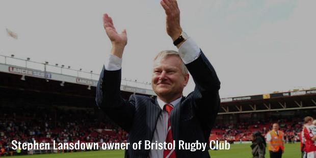 stephen lansdown owner of bristol rugby club