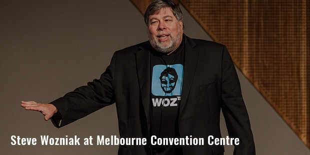 steve wozniak at melbourne convention centre