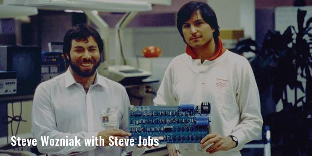 steve wozniak with steve jobs