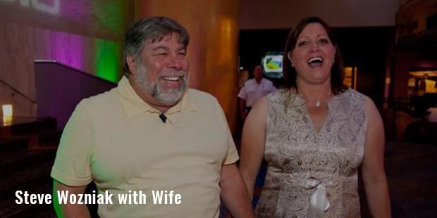 steve wozniak with wife