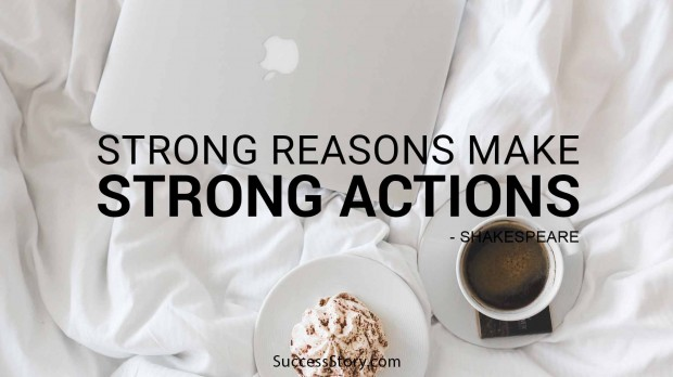 Strong reasons make strong