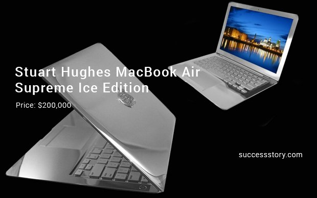 stuart hughes macbook air supreme ice edition