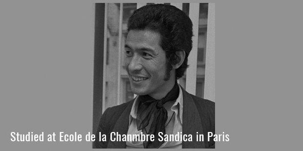 Studied at Ecole de la Chanmbre Sandica in Paris
