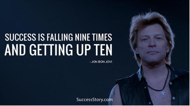 success is falling