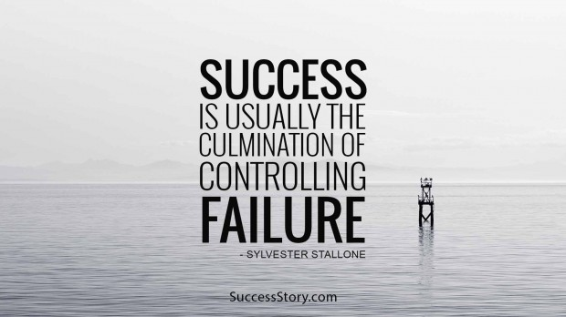 success is usually