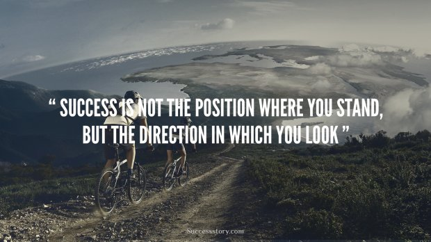 Success is not the position
