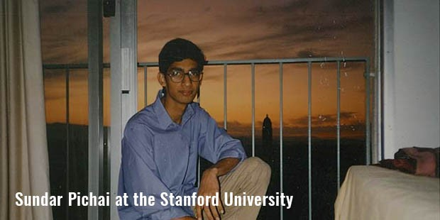sundar pichai at the stanford university