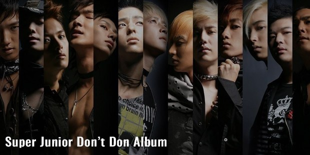 super junior dont don album