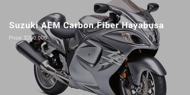 suzuki aem carbon fiber hayabusa