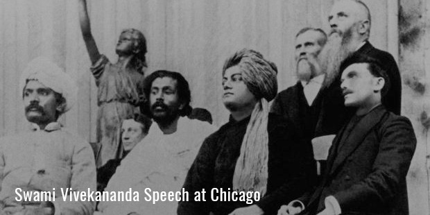 swami vivekananda speech at chicago
