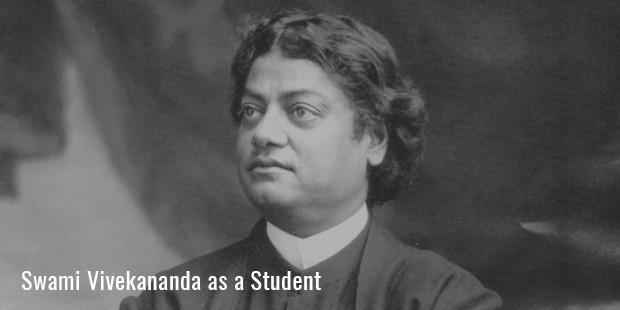 swami vivekananda as a student