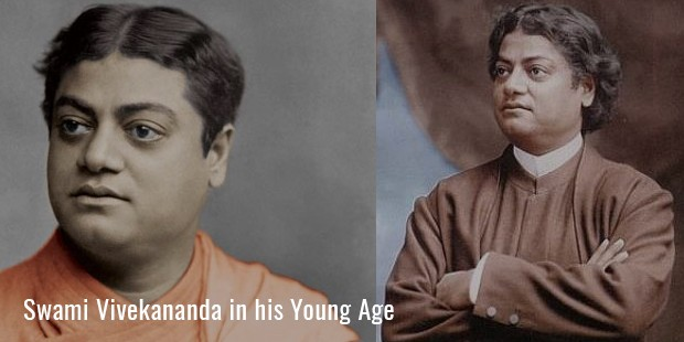 swami vivekananda in his young age