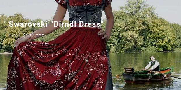 "swarovski ""dirndl dress"""