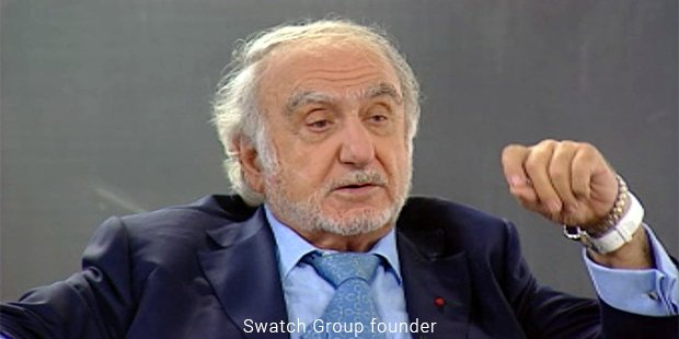 swatch group founder