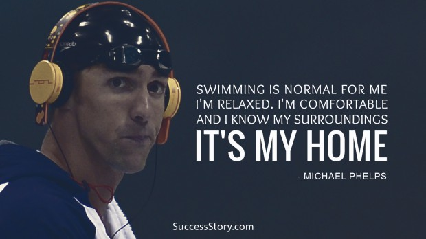 swimming is normal