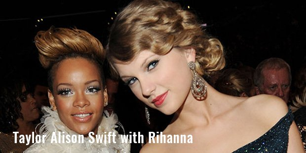 taylor alison swift with rihanna