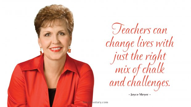 Teachers can change lives with