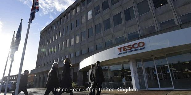 tesco head office
