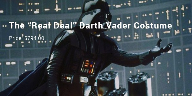 "the ""real deal"" darth vader costume"