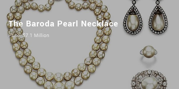 the baroda pearl necklace