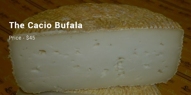 the cacio bufala