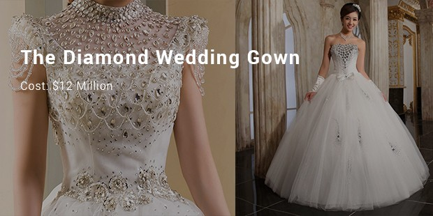 the diamond wedding gown