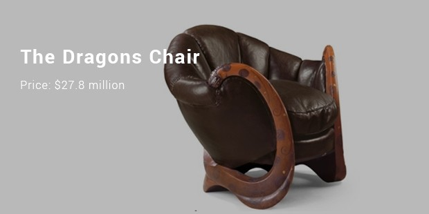 The Dragons Chair - $27.8 million
