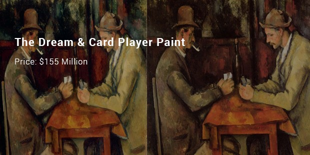 the dream   card player paint