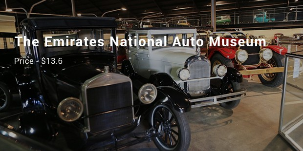 The Emirates National Auto Museum