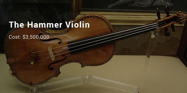 the hammer violin