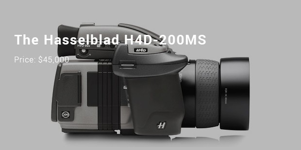 the hasselblad h4d 200ms