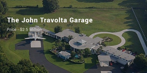 the john travolta garage