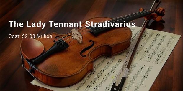 the lady tennant stradivarius
