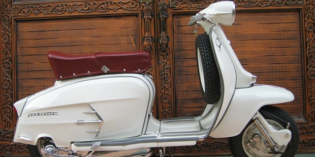 The Lambretta SX200