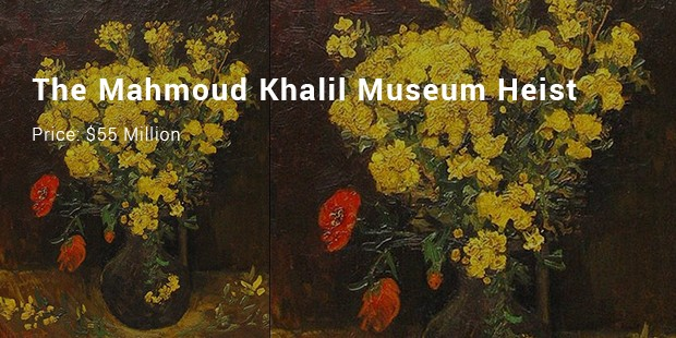 the mahmoud khalil museum heist