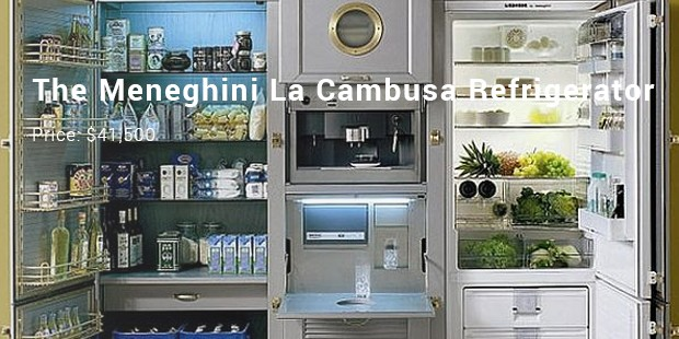 The Meneghini La Cambusa Refrigerator