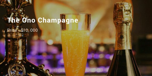 the ono champagne
