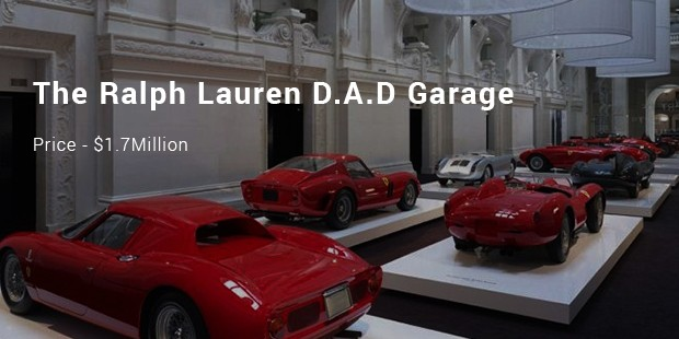 The Ralph Lauren D.A.D Garage