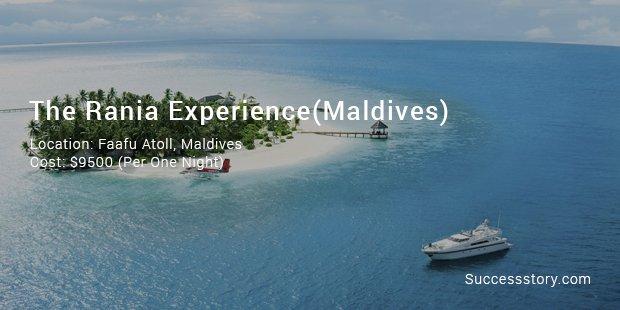 The Rania experience(Maldives)