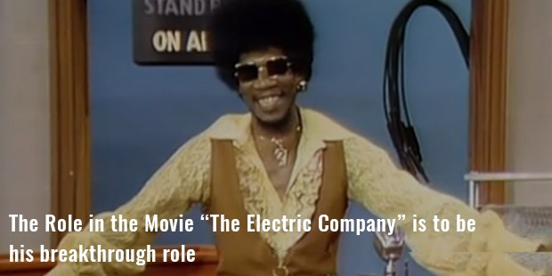 "the role in the movie ""the electric company"" is to be"