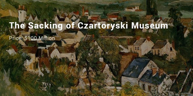 the sacking of czartoryski museum