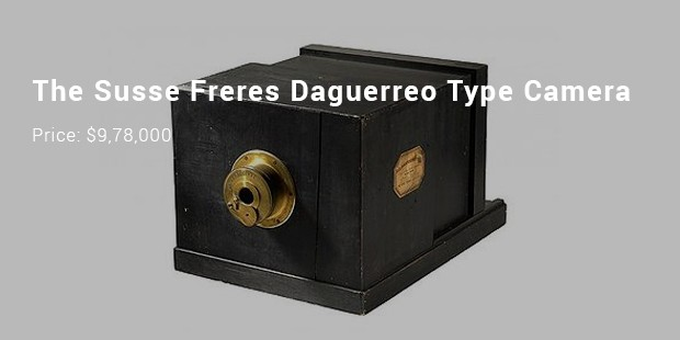 the susse freres daguerreo type camera