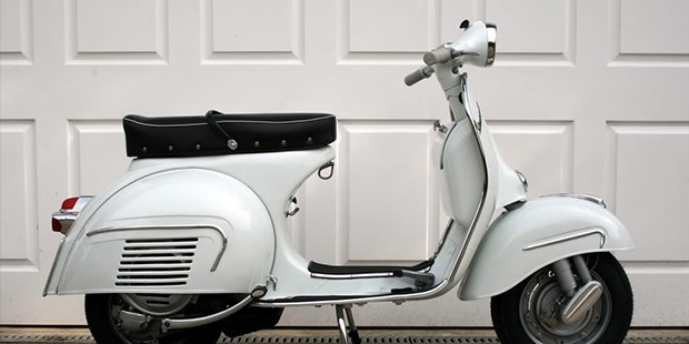The Vespa GS160