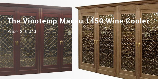 The Vinotemp Macau 1450 Wine Cooler