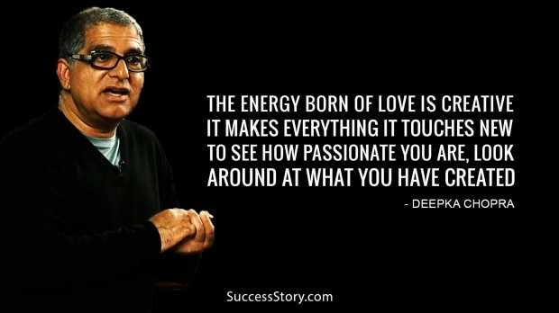 the energy born of love