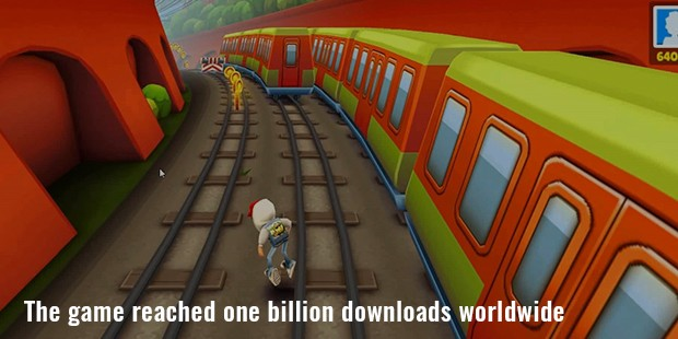 the game reached one billion downloads worldwide