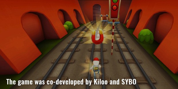 the game was co developed by kiloo and sybo