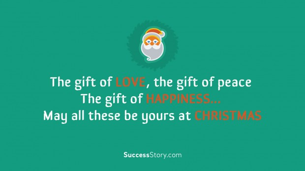 the gift of love, the gift of