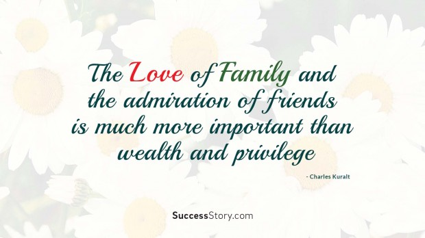 the love of family an